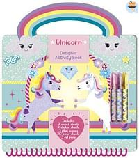 Unicorn Designer Activity Book-Totum