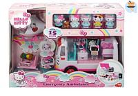 Hello Kitty Emergency dierenambulance, helikopter-Dickie