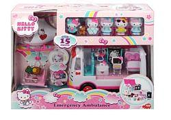 Hello Kitty Emergency dierenambulance, helikopter