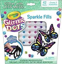 Glitter Dots 3D Mozaïeken Vlinders-Crayola
