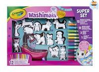 Washimals Deluxe Play Set-Crayola