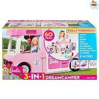 Barbie 3-in-1 Droomcamper-Barbie