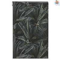 Behang Annet Groen-Huismerk - Kwantum