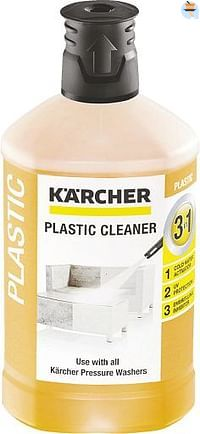 Kärcher Plug & Clean Kunststofreiniger 3-in-1 1 l-Kärcher