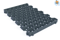 Marshalls Grasstabilisatie Stabilo grijs 60 x 39 x 4 cm-Marshalls
