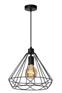 Lucide LED Luster Kyara 1 x E27 zwart Ø 32 cm-Lucide
