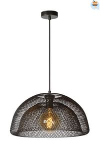 Lucide LED Hanglamp Mesh 1 x E27 zwart Ø 45 cm-Lucide