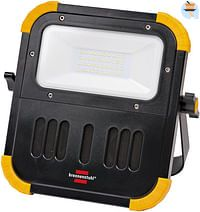 Brennenstuhl LED Accuwerklamp draagbaar Blumo 1 x 20 W met Bluetooth luidsprekers IP54 zwart-Brennenstuhl