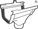 Middenspruitstuk C140 donkergrijs-Scala