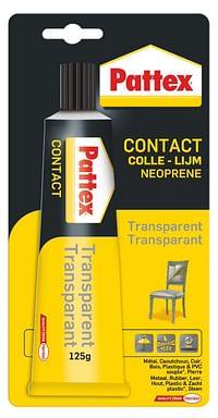 Pattex contactlijm transparant 125gr-Pattex