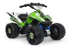 Kawasaki quad met 12 volt motor
