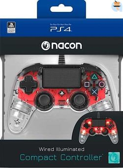 PS4 Nacon Wired Official Controller Transparant Ro