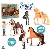 Spirit paard 18cm en pop 12cm-Giochi Preziosi