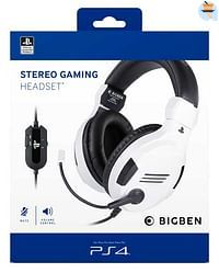 PS4 Official Stereo Gaming Headset V3 Wit-BIGben