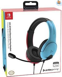 Switch Afterglow LVL40 Headset Blauw/Rood-Nintendo