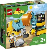 10931 LEGO DUPLO Truck & Graafmachine met rupsband-Lego