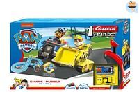 Carrera First PAW Patrol Chase - Rubble on a roll-Carrera