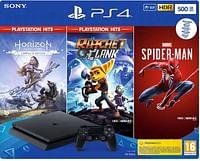 PS4 Slim 500GB Black Console Playstation-Playstation
