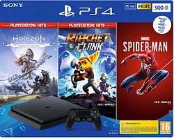 PS4 Slim 500GB Black Console Playstation