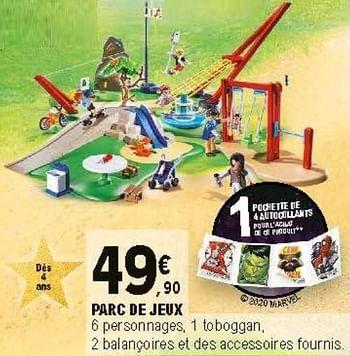 Promotion E Leclerc Parc De Jeux Playmobil Jouets Valide Jusqua 4 Promobutler