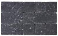 Cobogarden Klinker getrommeld 15 x 15 x 4 cm zwart-Cobo Garden
