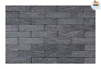Cobogarden Klinker getrommeld waal 20 x 5 x 6 cm zwart-Cobo Garden