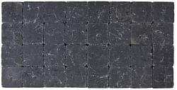 Cobo garden Klinker getrommeld 10 x 10 x 4 cm zwart