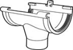 Middenspruitstuk G80 bruin-Scala