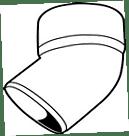 RWA T-Stuk 80/45