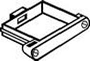 Fixo 80 x 80+ vierkant donkergrijs-Scala