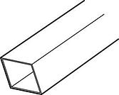 PVC Buis Coex 80 x 80 2 m bruin-Scala