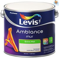 Levis muurverf Ambiance Muur eierschaal extra mat 2,5L-Levis Ambiance