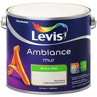 Levis muurverf Ambiance Muur eierschaal extra mat 2,5L-No Name