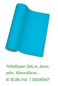 Tafelloper gala, azur-Gala