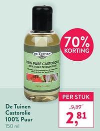 De tuinen castorolie 100% puur-De Tuinen