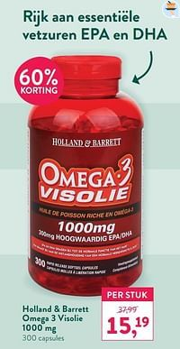 Holland + barrett omega 3 visolie-Huismerk - Holland & Barrett