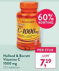 Holland + barrett vitamine c
