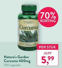 Nature`s garden curcuma