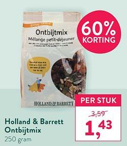 Holland + barrett ontbijtmix