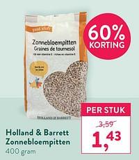 Holland + barrett zonnebloempitten-Huismerk - Holland & Barrett