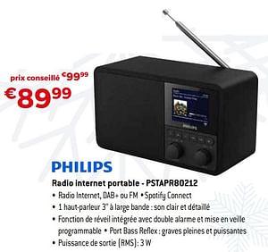Philips radio internet portable - pstapr80212