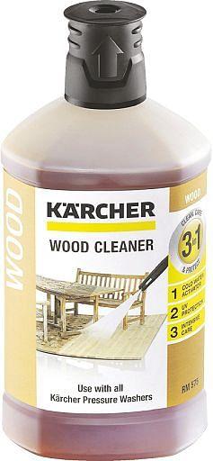 Kärcher Plug & Clean Houtreiniger 3-in-1 1 l