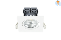 Energetic LED Inbouwspot Apollo 3 x 4,8 W 2700 K vierkant wit-Energetic