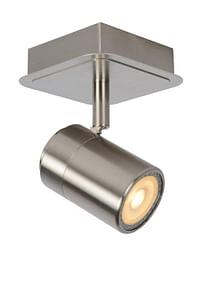 Lucide LED Plafondspot Lennert GU10 1 x 5 W vierkant mat chroom-Lucide