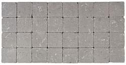 Cobogarden Pavé tambouriné 10 x 10 x 4 cm gris