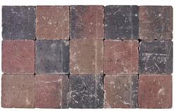 Cobogarden Pavé tambouriné 15 x 15 x 4 cm automne