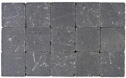 Cobogarden Pavé tambouriné 15 x 15 x 4 cm gris souris