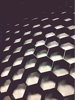 Nidagravel Stabilisation de gravier 120 x 80 x 2,9 cm noire