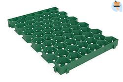 Coeck Dalle de gazon greenplac HDPE 60 x 39 x 4 cm