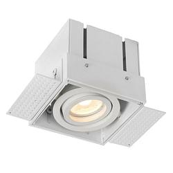 Lucide LED Spot encastrable Trimless 1 x GU10 rectangulaire blanc